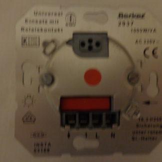 Berker 2937 Universal Einsatz mit Relaiskontakt   1000W /VA AC 230V