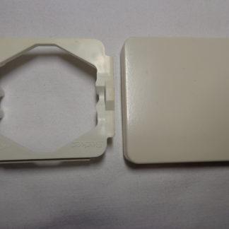 Berker 21812 + 21816 Modul 2 Wippe für Schalter (Taster) cremeweiß