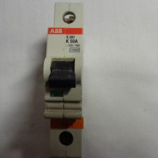 ABB S 281 K 50A 1pol. Sicherungsautomat