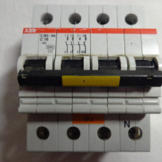 ABB S 263 - NA C16  3+N Sicherungsautomat