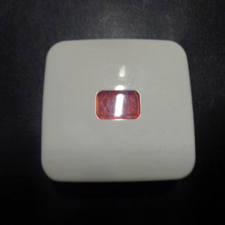 Busch und Jäger 2520-2 alpinweiß Wippe mit roten Symbol