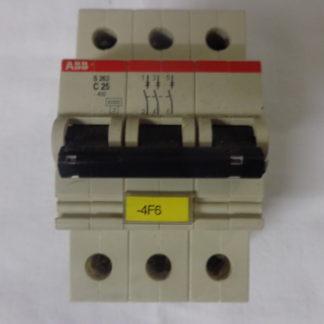 ABB C25 S263 3pol. Sicherungsautomat