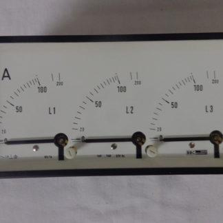 BBC GOERZ Metrawatt Amperemeter analog