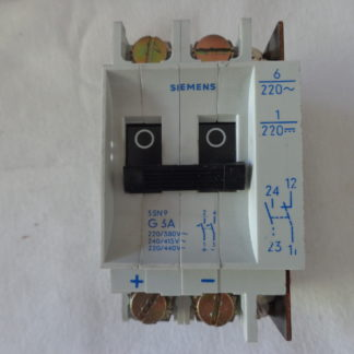 Siemens 5SN9 G3A Sicherungsautomat 2pol