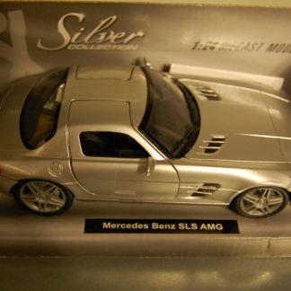 Mercedes Benz SLS AMG 1:24   Silver Collection