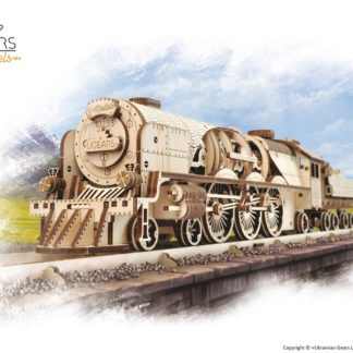 UGears Lokomotive V-Express mit Tender